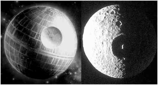 Una Luna de Saturno